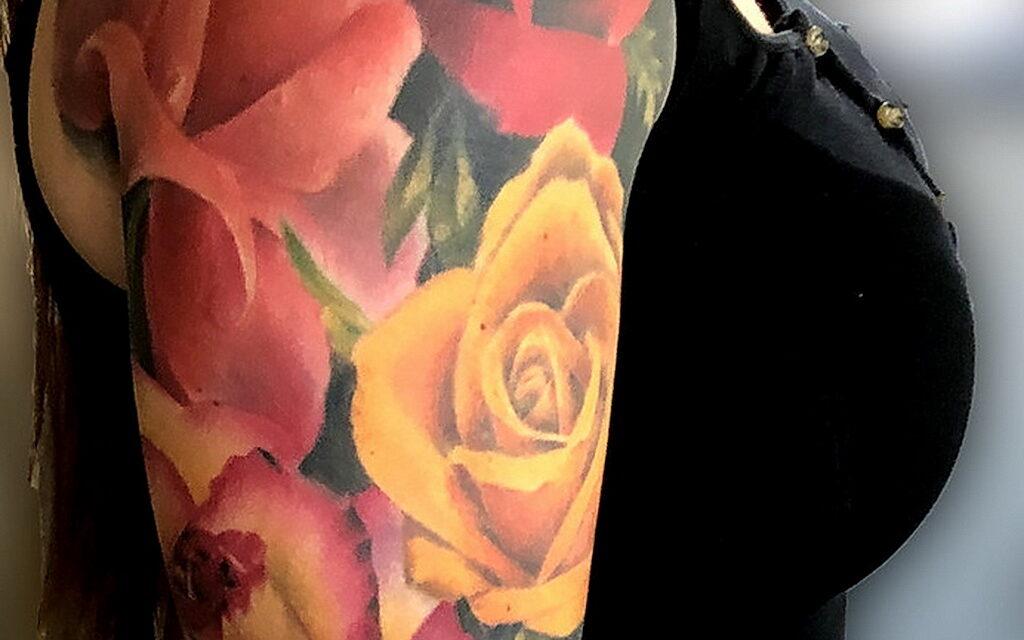 Что символизирует татуировка в виде розы