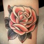 Фото тату роза для девушки 25.01.2021 №0044 - rose tattoo for girls - tatufoto.com