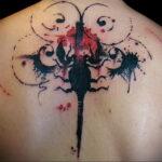 Фото тату скорпион на спине 16.01.2021 №0032 -scorpion back tattoo- tatufoto.com