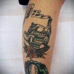 Фото тату чайник 06.01.2021 №004 -tattoo teapot- tatufoto.com