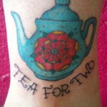 Фото тату чайник 06.01.2021 №010 -tattoo teapot- tatufoto.com