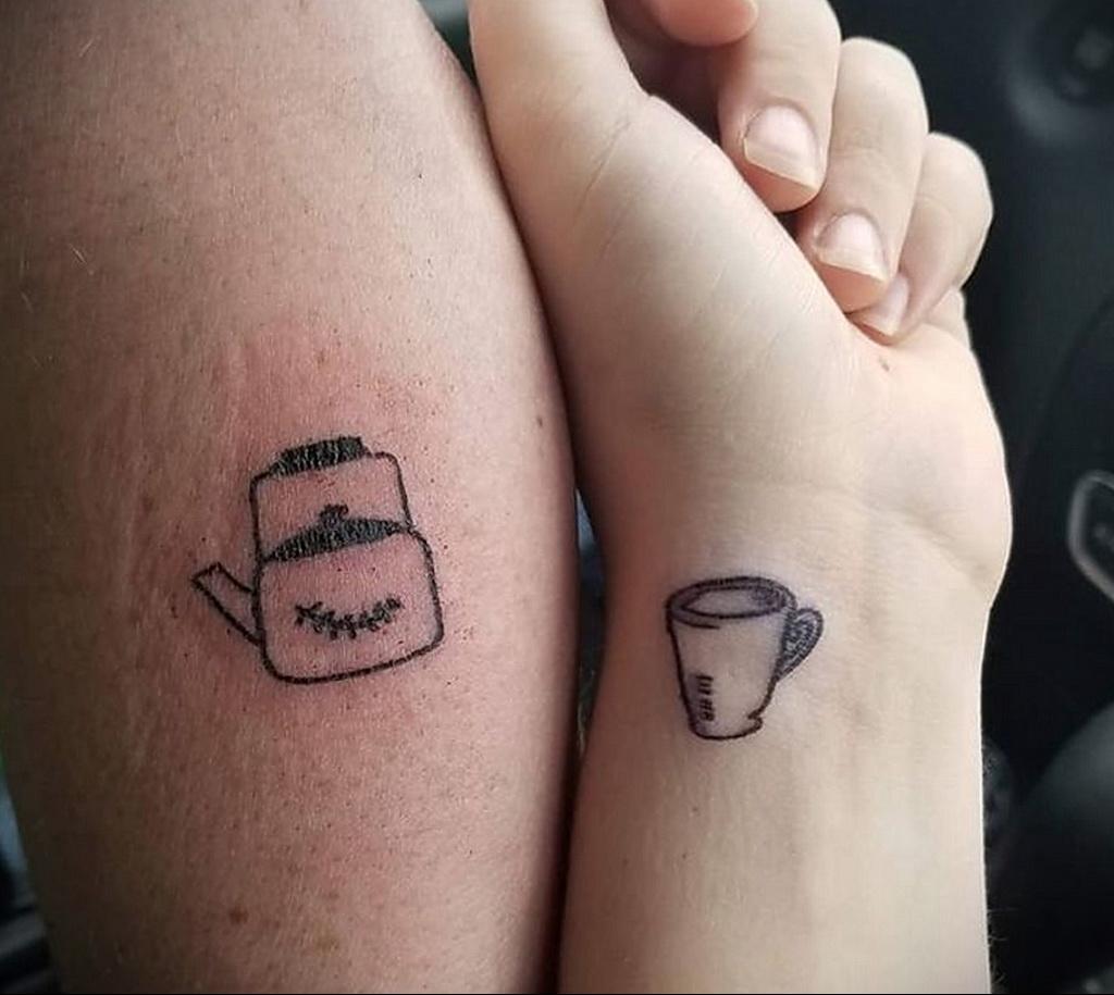 Фото тату чайник 06.01.2021 №405 -tattoo teapot- tatufoto.com