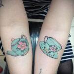 Фото тату чайник 06.01.2021 №422 -tattoo teapot- tatufoto.com