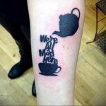 Фото тату чайник 06.01.2021 №425 -tattoo teapot- tatufoto.com
