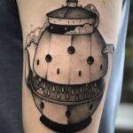 Фото тату чайник 06.01.2021 №442 -tattoo teapot- tatufoto.com