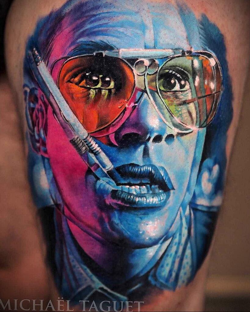 Цветная тату в стиле реализм 02.01.2021 №087 -color realism tattoo- tatufoto.com