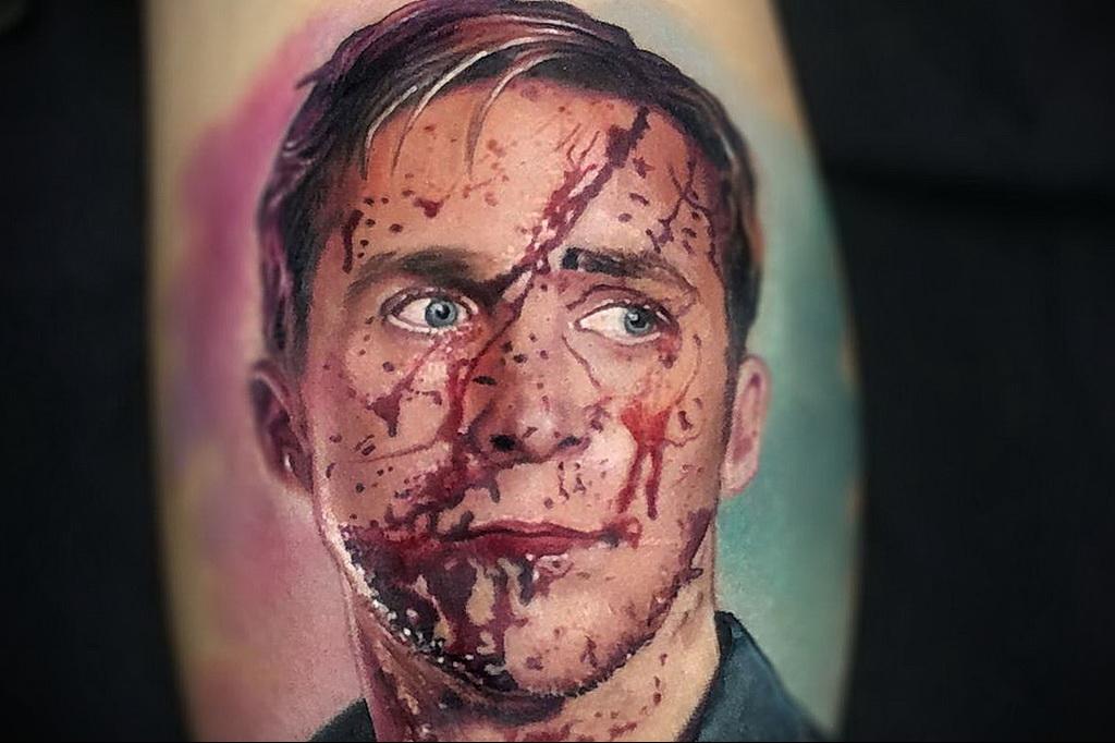 Цветная тату в стиле реализм 02.01.2021 №151 -color realism tattoo- tatufoto.com
