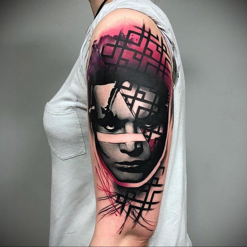 Цветная тату в стиле реализм 02.01.2021 №155 -color realism tattoo- tatufoto.com