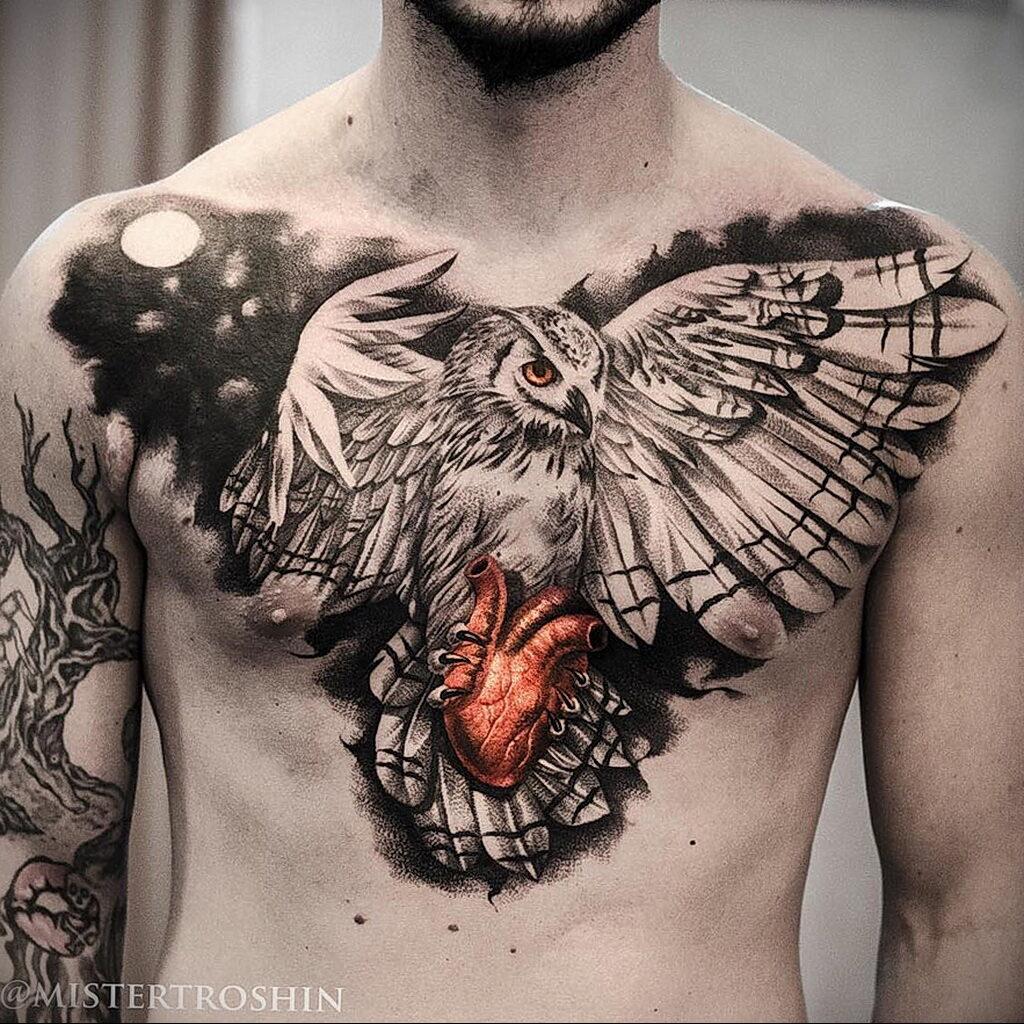 Цветная тату в стиле реализм 02.01.2021 №184 -color realism tattoo- tatufoto.com