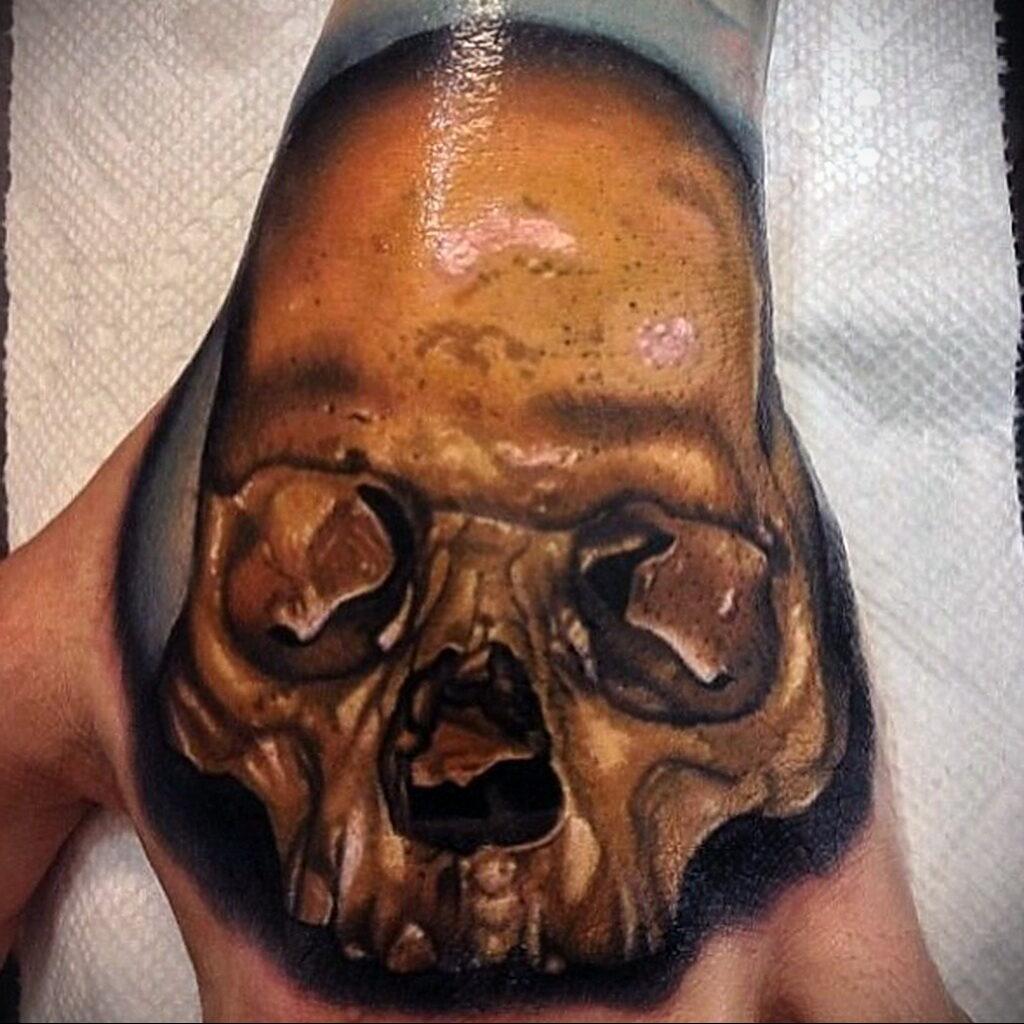 Цветная тату в стиле реализм 02.01.2021 №193 -color realism tattoo- tatufoto.com