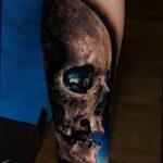 Цветная тату в стиле реализм 02.01.2021 №209 -color realism tattoo- tatufoto.com