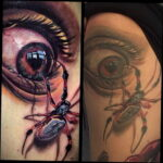 Цветная тату в стиле реализм 02.01.2021 №212 -color realism tattoo- tatufoto.com