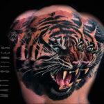 Цветная тату в стиле реализм 02.01.2021 №213 -color realism tattoo- tatufoto.com