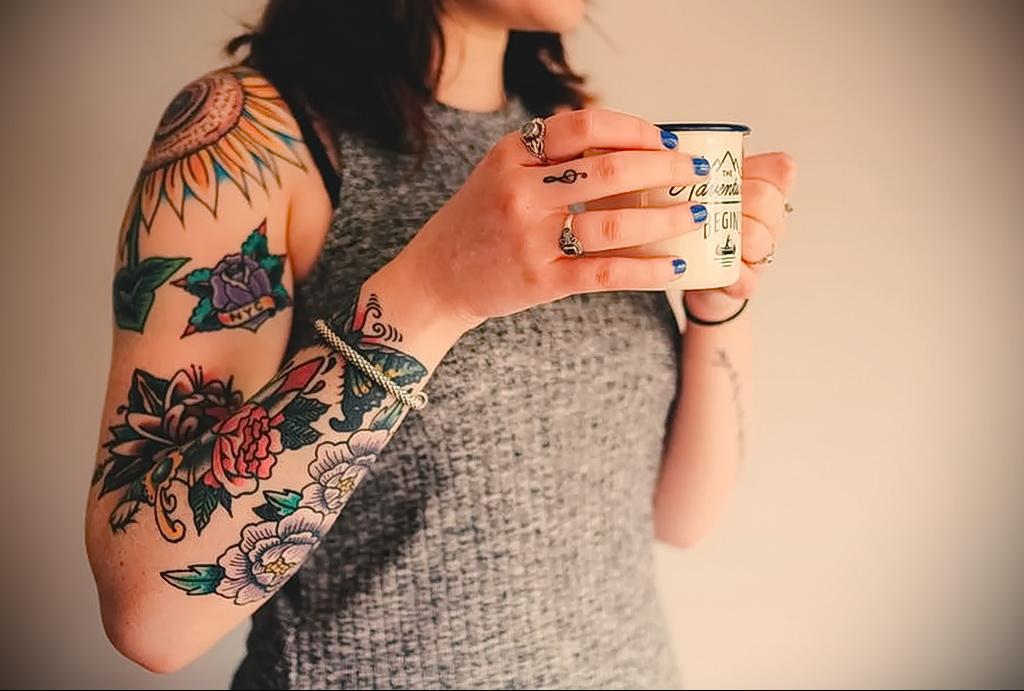 Как быстро заживает татуировка - этапы - уход - советы - факты - фото - tatufoto.com 9