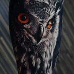 Значение рисунка татуировки с совой