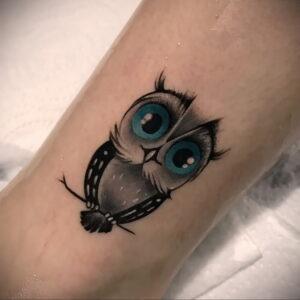 тату глаза совы пример рисунка 15.02.2021 №0010 - owl eyes tattoo - tatufoto.com