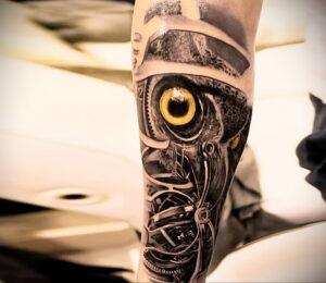 тату глаза совы пример рисунка 15.02.2021 №0019 - owl eyes tattoo - tatufoto.com