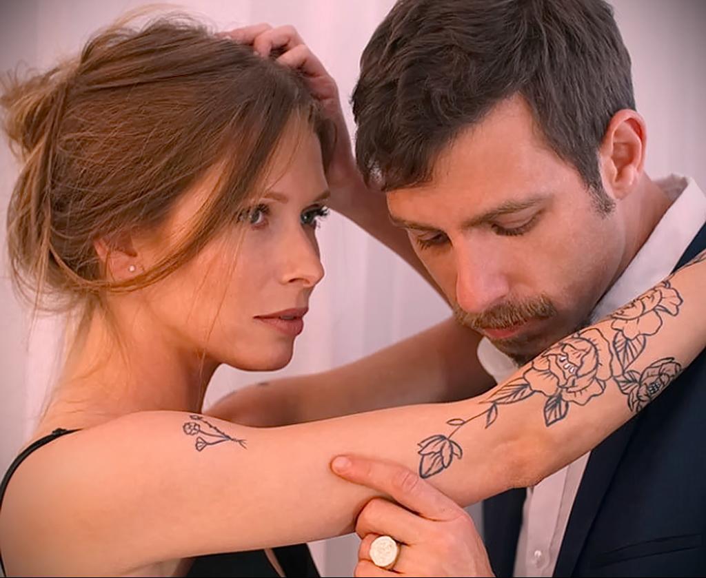 тату с запахом и ароматом фото 12.02.2021 №0014 - tattoo smell- tatufoto.com