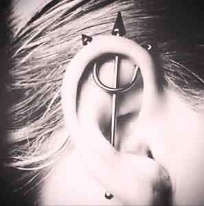 Фото крутого пирсинга у человека 17.03.2021 №142 - cool piercing - tatufoto.com