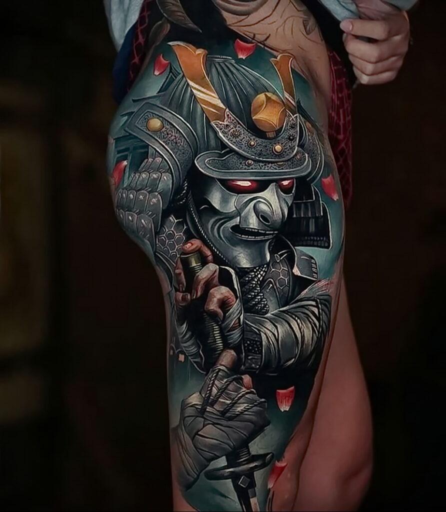 Фото крутого рисунка татуировки 16.03.2021 №003 - cool tattoo - tatufoto.com