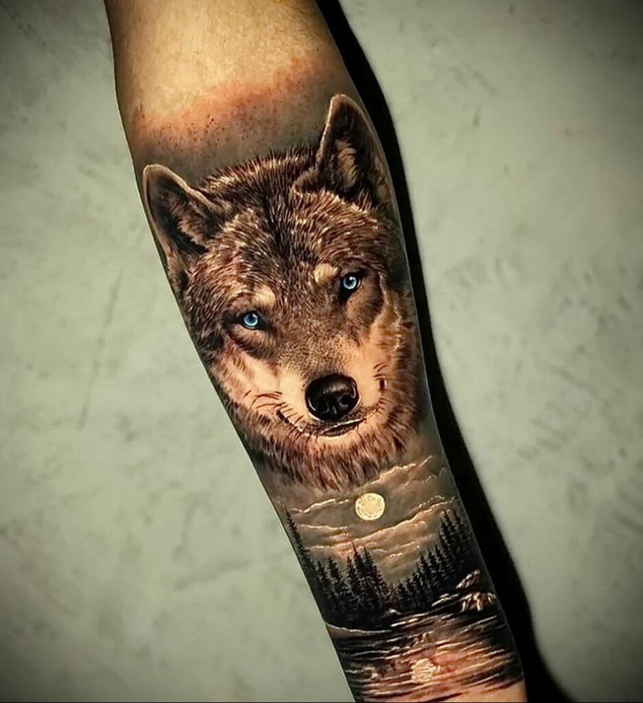 Фото крутого рисунка татуировки 16.03.2021 №004 - cool tattoo - tatufoto.com