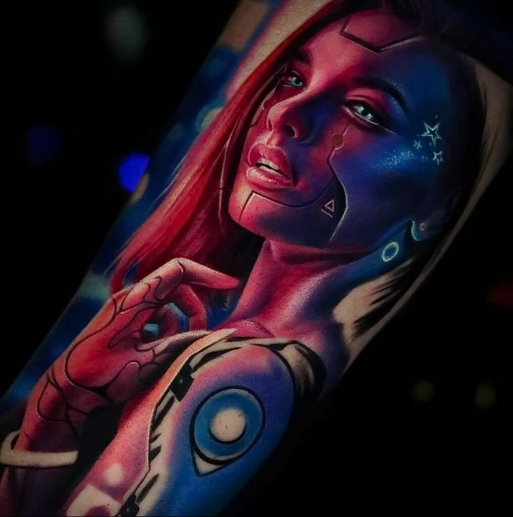 Фото крутого рисунка татуировки 16.03.2021 №007 - cool tattoo - tatufoto.com