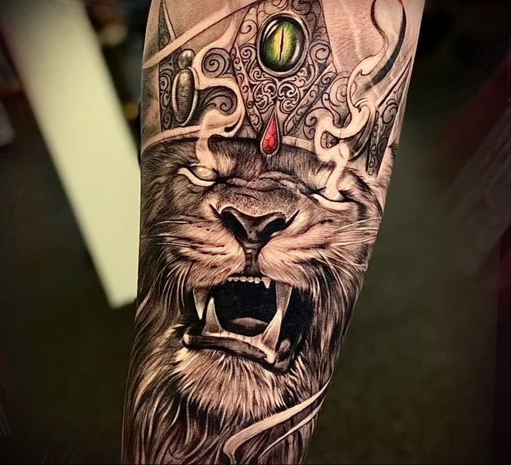 Фото крутого рисунка татуировки 16.03.2021 №011 - cool tattoo - tatufoto.com