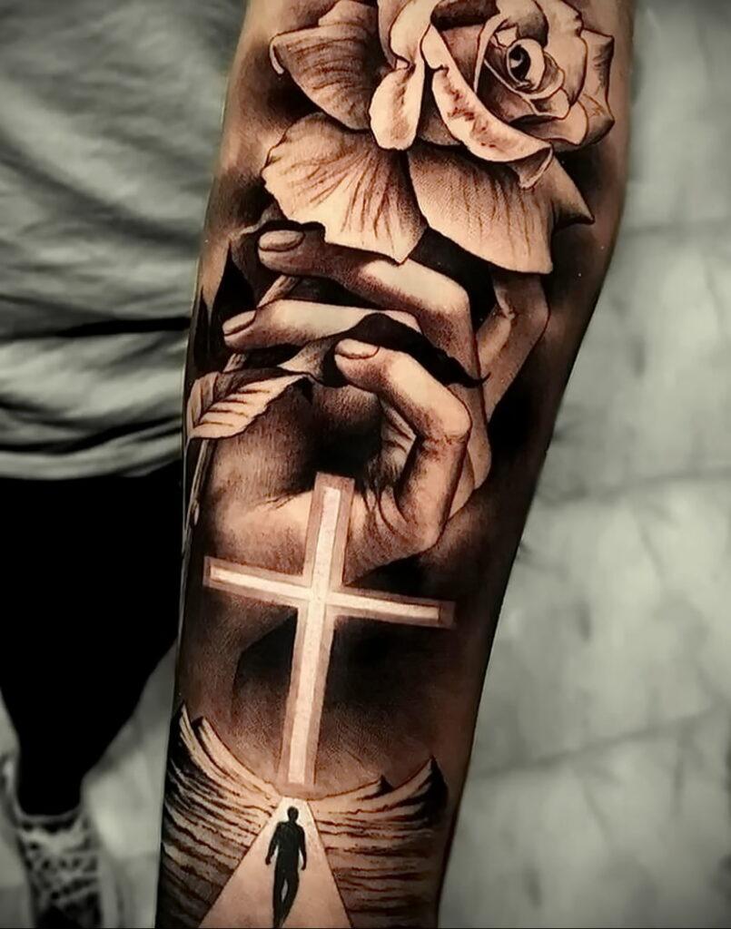 Фото крутого рисунка татуировки 16.03.2021 №014 - cool tattoo - tatufoto.com