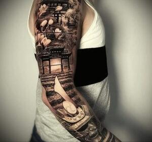 Фото крутого рисунка татуировки 16.03.2021 №058 - cool tattoo - tatufoto.com