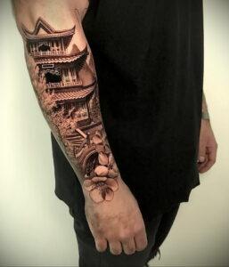 Фото крутого рисунка татуировки 16.03.2021 №064 - cool tattoo - tatufoto.com