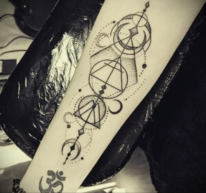 Фото крутого рисунка татуировки 16.03.2021 №067 - cool tattoo - tatufoto.com