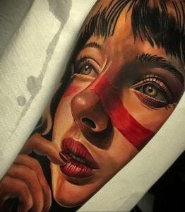 Фото крутого рисунка татуировки 16.03.2021 №077 - cool tattoo - tatufoto.com