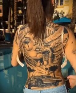 Фото крутого рисунка татуировки 16.03.2021 №082 - cool tattoo - tatufoto.com