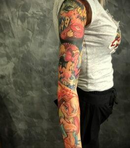 Фото крутого рисунка татуировки 16.03.2021 №093 - cool tattoo - tatufoto.com