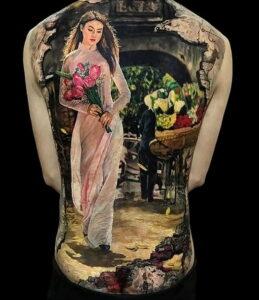 Фото крутого рисунка татуировки 16.03.2021 №110 - cool tattoo - tatufoto.com