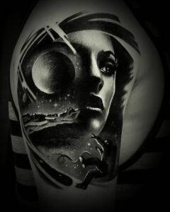 Фото крутого рисунка татуировки 16.03.2021 №150 - cool tattoo - tatufoto.com