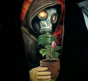 Фото крутого рисунка татуировки 16.03.2021 №160 - cool tattoo - tatufoto.com