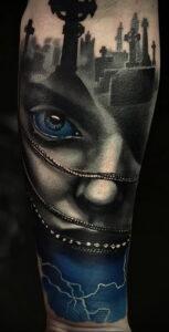 Фото крутого рисунка татуировки 16.03.2021 №171 - cool tattoo - tatufoto.com