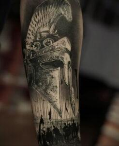 Фото крутого рисунка татуировки 16.03.2021 №182 - cool tattoo - tatufoto.com