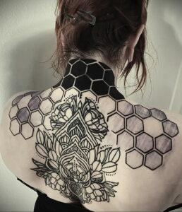 Фото крутого рисунка татуировки 16.03.2021 №183 - cool tattoo - tatufoto.com