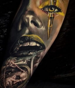 Фото крутого рисунка татуировки 16.03.2021 №209 - cool tattoo - tatufoto.com
