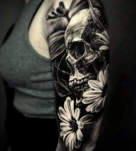 Фото крутого рисунка татуировки 16.03.2021 №217 - cool tattoo - tatufoto.com