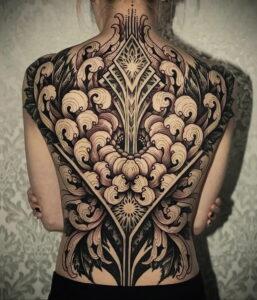 Фото крутого рисунка татуировки 16.03.2021 №220 - cool tattoo - tatufoto.com