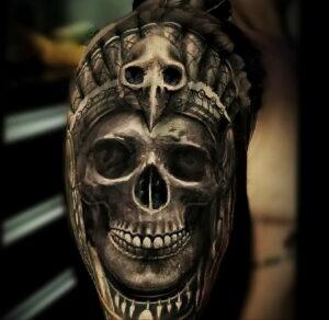 Фото крутого рисунка татуировки 16.03.2021 №221 - cool tattoo - tatufoto.com