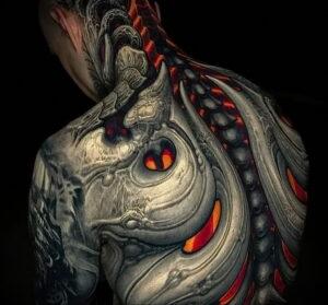 Фото крутого рисунка татуировки 16.03.2021 №223 - cool tattoo - tatufoto.com
