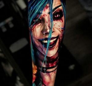 Фото крутого рисунка татуировки 16.03.2021 №226 - cool tattoo - tatufoto.com