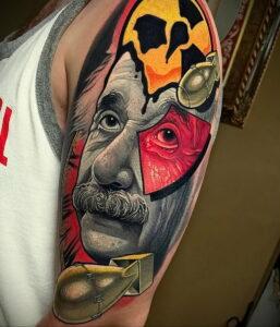 Фото крутого рисунка татуировки 16.03.2021 №231 - cool tattoo - tatufoto.com
