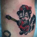 Фото татуировки со скунсом 28.03.2021 №497 - Skunk tattoo - tatufoto.com