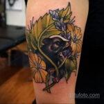 Фото татуировки со скунсом 28.03.2021 №504 - Skunk tattoo - tatufoto.com