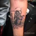 Фото татуировки со скунсом 28.03.2021 №509 - Skunk tattoo - tatufoto.com